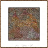 画家保罗克利Paul Klee油画作品高清图片野兽派油画大师作品高清大图 (1)