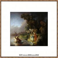 荷兰现实主义画家伦勃朗Rembrandt17世纪最伟大的画家油画作品高清大图肖像画风景画风俗画宗教画 (13)