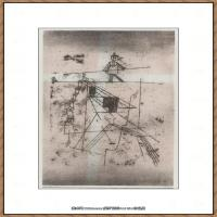 画家保罗克利Paul Klee油画作品高清图片野兽派油画大师作品高清大图 (117)