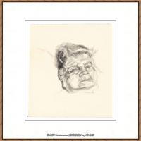 英国表现派绘画大师卢西安弗洛伊德Lucian Freud油画作品高清大图最贵画家卢西安弗洛伊德绘画作品高清图库 (134