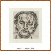 英国表现派绘画大师卢西安弗洛伊德Lucian Freud油画作品高清大图最贵画家卢西安弗洛伊德绘画作品高清图库 (78)