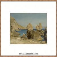弗雷德里克莱顿洛德莱顿Frederic_Leighton油画作品高清大图古典油画作品高清图片 (68)