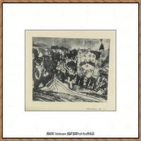 画家保罗克利Paul Klee油画作品高清图片野兽派油画大师作品高清大图 (84)