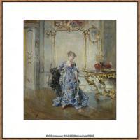 乔凡尼博蒂尼GiovanniBodini油画作品高清图片 (31)