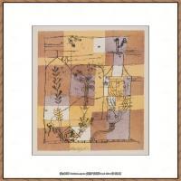 画家保罗克利Paul Klee油画作品高清图片野兽派油画大师作品高清大图 (82)