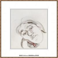 英国表现派绘画大师卢西安弗洛伊德Lucian Freud油画作品高清大图最贵画家卢西安弗洛伊德绘画作品高清图库 (89)