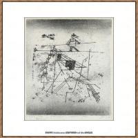 画家保罗克利Paul Klee油画作品高清图片野兽派油画大师作品高清大图 (48)