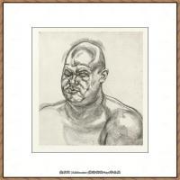 英国表现派绘画大师卢西安弗洛伊德Lucian Freud油画作品高清大图最贵画家卢西安弗洛伊德绘画作品高清图库 (51)