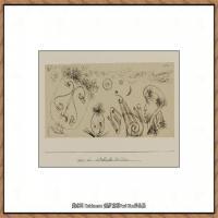画家保罗克利Paul Klee油画作品高清图片野兽派油画大师作品高清大图 (30)