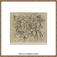 画家保罗克利Paul Klee油画作品高清图片野兽派油画大师作品高清大图 (95)