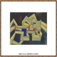画家保罗克利Paul Klee油画作品高清图片野兽派油画大师作品高清大图 (19)