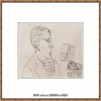 英国表现派绘画大师卢西安弗洛伊德Lucian Freud油画作品高清大图最贵画家卢西安弗洛伊德绘画作品高清图库 (94)
