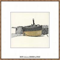 英国表现派绘画大师卢西安弗洛伊德Lucian Freud油画作品高清大图最贵画家卢西安弗洛伊德绘画作品高清图库 (106