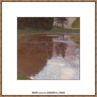 克里姆特Gustav Klimt油画作品奥地利象征主义画家克里姆特油画作品高清图片 (5)