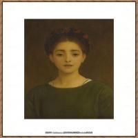 弗雷德里克莱顿洛德莱顿Frederic_Leighton油画作品高清大图古典油画作品高清图片 (42)