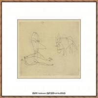 画家保罗克利Paul Klee油画作品高清图片野兽派油画大师作品高清大图 (2)