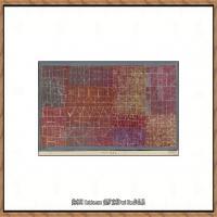 画家保罗克利Paul Klee油画作品高清图片野兽派油画大师作品高清大图 (130)