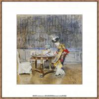 乔凡尼博蒂尼GiovanniBodini油画作品高清图片 (39)