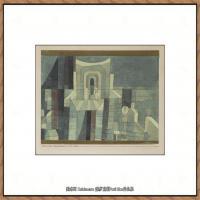 画家保罗克利Paul Klee油画作品高清图片野兽派油画大师作品高清大图 (112)