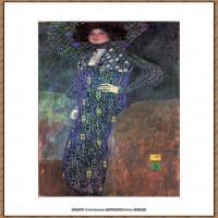 克里姆特Gustav Klimt油画作品奥地利象征主义画家克里姆特油画作品高清图片 (11)