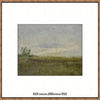 俄罗斯画家伊萨克列维坦Isaac Levitan油画风景作品图片风景油画高清大图 (36)