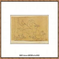 画家保罗克利Paul Klee油画作品高清图片野兽派油画大师作品高清大图 (127)