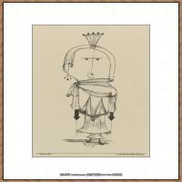 画家保罗克利Paul Klee油画作品高清图片野兽派油画大师作品高清大图 (99)