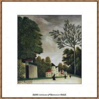 法国画家亨利卢梭Jacques Rousseau油画作品高清图片杰出的油画作品梦 (4)