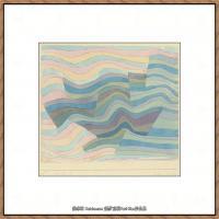 画家保罗克利Paul Klee油画作品高清图片野兽派油画大师作品高清大图 (56)