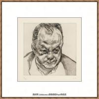 英国表现派绘画大师卢西安弗洛伊德Lucian Freud油画作品高清大图最贵画家卢西安弗洛伊德绘画作品高清图库 (3)