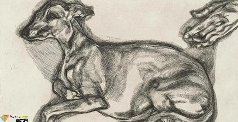 英國(表現派)盧西安·弗洛伊德Lucian Freud-素描展
