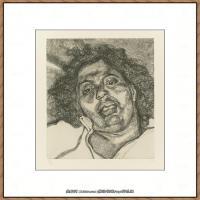 英国表现派绘画大师卢西安弗洛伊德Lucian Freud油画作品高清大图最贵画家卢西安弗洛伊德绘画作品高清图库 (59)