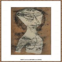 画家保罗克利Paul Klee油画作品高清图片野兽派油画大师作品高清大图 (40)