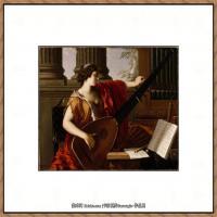 意大利画家卡拉瓦乔Caravaggio油画人物高清图片Caravaggio Allegory of Music
