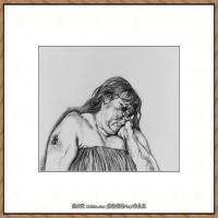 英国表现派绘画大师卢西安弗洛伊德Lucian Freud油画作品高清大图最贵画家卢西安弗洛伊德绘画作品高清图库 (109