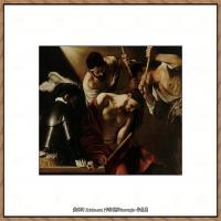 意大利画家卡拉瓦乔Caravaggio油画人物高清图片Uvenchanie terniem-