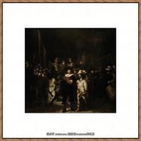 荷兰现实主义画家伦勃朗Rembrandt17世纪最伟大的画家油画作品高清大图肖像画风景画风俗画宗教画 (2)