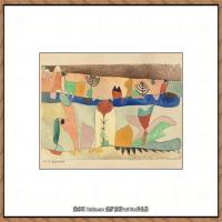 画家保罗克利Paul Klee油画作品高清图片野兽派油画大师作品高清大图 (50)