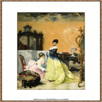 乔凡尼博蒂尼GiovanniBodini油画作品高清图片 (40)