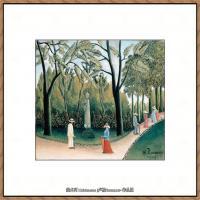 法国画家亨利卢梭Jacques Rousseau油画作品高清图片杰出的油画作品梦 (16)