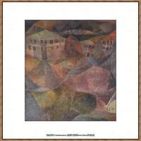 画家保罗克利Paul Klee油画作品高清图片野兽派油画大师作品高清大图 (88)
