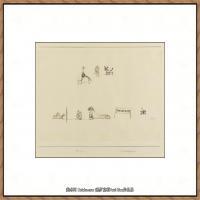 画家保罗克利Paul Klee油画作品高清图片野兽派油画大师作品高清大图 (77)
