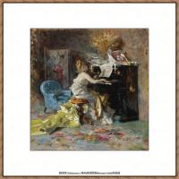 乔凡尼博蒂尼GiovanniBodini油画作品高清图片 (62)