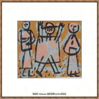 画家保罗克利Paul Klee油画作品高清图片野兽派油画大师作品高清大图 (80)