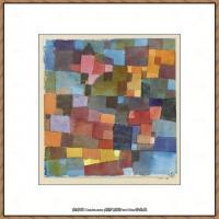 画家保罗克利Paul Klee油画作品高清图片野兽派油画大师作品高清大图 (10)