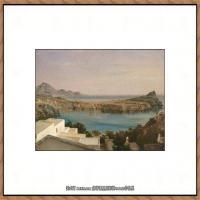 弗雷德里克莱顿洛德莱顿Frederic_Leighton油画作品高清大图古典油画作品高清图片 (4)