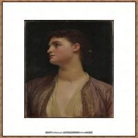 弗雷德里克莱顿洛德莱顿Frederic_Leighton油画作品高清大图古典油画作品高清图片 (13)