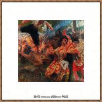 列宾Ilya Repin经典油画作品高清图片人物肖像油画作品图片素材写实派画家油画作品大图 (1)