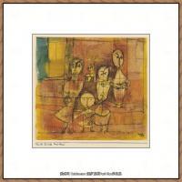 画家保罗克利Paul Klee油画作品高清图片野兽派油画大师作品高清大图 (53)