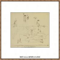 画家保罗克利Paul Klee油画作品高清图片野兽派油画大师作品高清大图 (69)